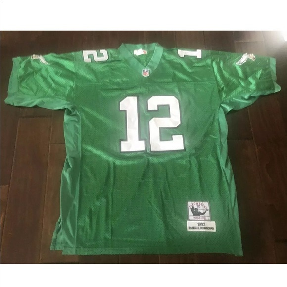 new styles 649e6 0f8f4 RANDALL CUNNINGHAM EAGLES MITCHELL & NESS JERSEY